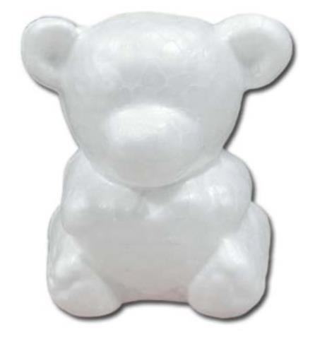 Медведь из пенопласта своими руками 100