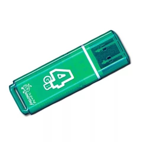 USB флэш-диск Smart Buy 4Gb Glossy series Green